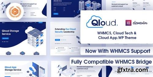 ThemeForest - Qloud v1.9 - WHMCS, Cloud Computing, Apps & Server WordPress Theme - 25824673
