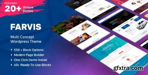 ThemeForest - Farvis v1.3.4 - Multipurpose WordPress Theme - 20896134