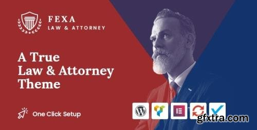 ThemeForest - Fexa v1.2 - Lawyer & Attorney WordPress Theme - 24014666