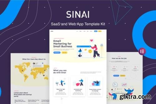 ThemeForest - Sinai v1.0.0 - SaaS and Web App Template Kit - 7646339
