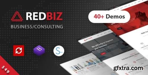 ThemeForest - RedBiz v1.2.2 - Finance & Consulting Multi-Purpose WordPress Theme - 21996685