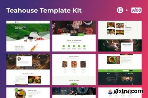 ThemeForest - Tabit v1.0.0 - Teahouse & Tea Store Elementor Template Kit - 29296840