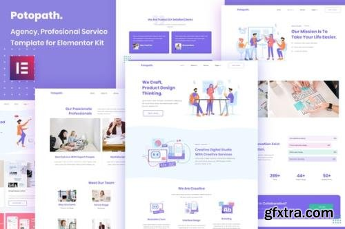 ThemeForest - Potopath v1.0 - Digital Agency Elementor Template Kit - 29151124