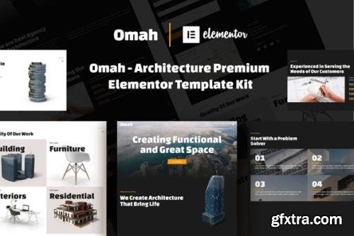 ThemeForest - Omah v1.0.0 - Architecture Template Kit - 29011920