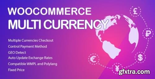 CodeCanyon - WooCommerce Multi Currency v2.1.10.2 - Currency Switcher - 20948446