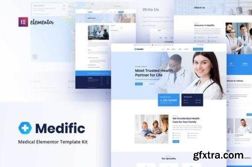 ThemeForest - Medific v1.0.0 - Medical Elementor Template Kit - 29057123