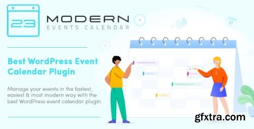 Modern Events Calendar Pro v5.13.5 - Responsive Event Scheduler & Booking For WordPress