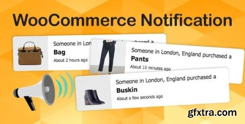 CodeCanyon - WooCommerce Notification v1.4.2.1 - Boost Your Sales - Live Feed Sales - Recent Sales Popup - Upsells - 16586926