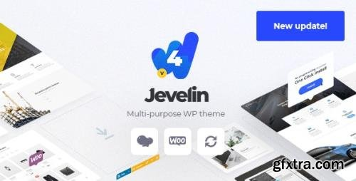 ThemeForest - Jevelin 4.8.4 - Multi-Purpose Responsive WordPress AMP Theme - 14728833