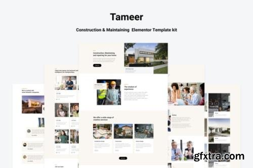 ThemeForest - Tammer v1.0.0 - Construction & Maintenance Elementor Template kit - 29236202
