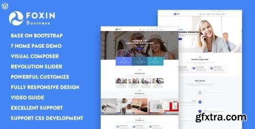ThemeForest - Foxin v1.1.1 - Responsive Business WordPress Theme - 20203550