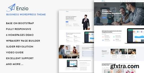 ThemeForest - Enzio v1.0.2 - Responsive Business WordPress Theme (Update: 9 November 20) - 22272603