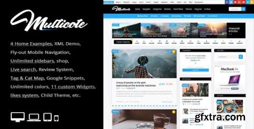 ThemeForest - Multicote v2.4 - Magazine and WooCommerce WordPress Theme - 21534270