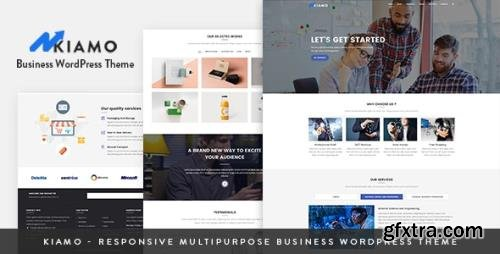 ThemeForest - Kiamo v1.2.0 - Responsive Business Service WordPress Theme - 21558138