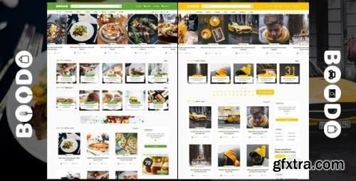 ThemeForest - Boodo WP v2.6 - Food and Magazine Shop WordPress Theme - 21537431