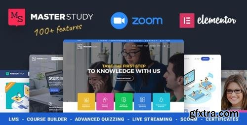 ThemeForest - Education WordPress Theme - Masterstudy v4.1.1 - 12170274 - NULLED