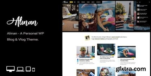 ThemeForest - Alinan WP v2.1 - A Personal WordPress Blog and Vlog Theme - 22313980