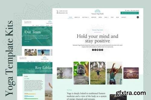 ThemeForest - Namaste v1.0 - Yoga & Fitness Elementor Template Kit - 29283840