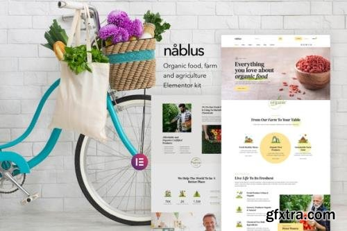 ThemeForest - Nablus v1.0 - Organic Food & Agriculture Template Kit - 29300584