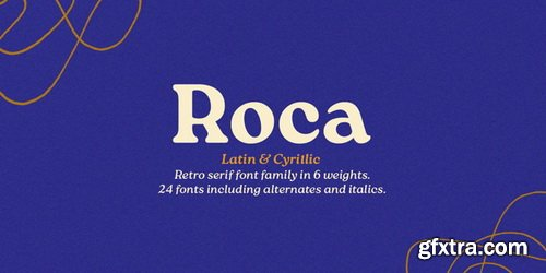 Roca Font Family