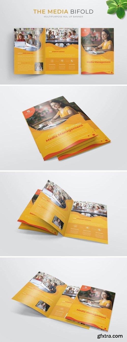 Media Management | Bifold Brochure