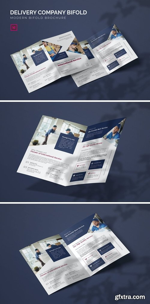 Delivery Company - Bifold Brochure
