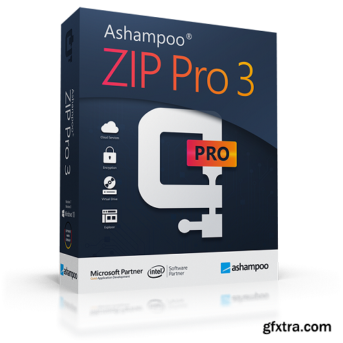 Ashampoo ZIP Pro 3.05.08 (x64) Multilingual Portable