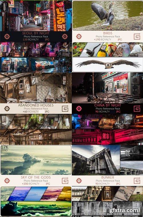 Bundle: Photo References - 30 Packs