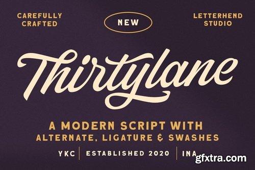 CreativeMarket - Thirtylane - Modern Script - 5609145