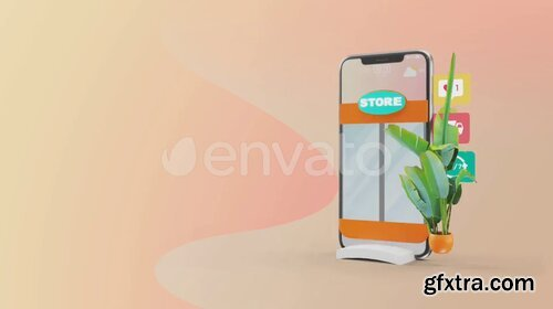 Videohive - Mobile Online Shopping AE Project - 28782295