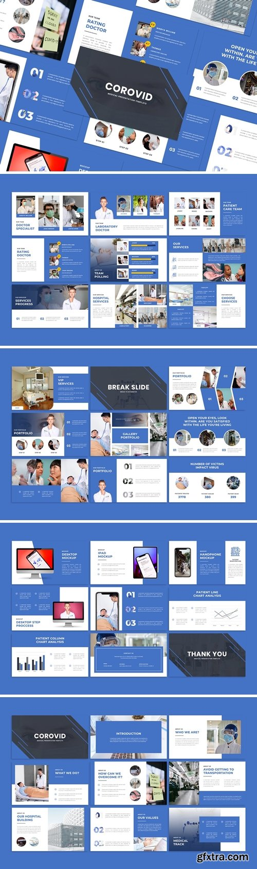 Corovid - Powerpoint Template