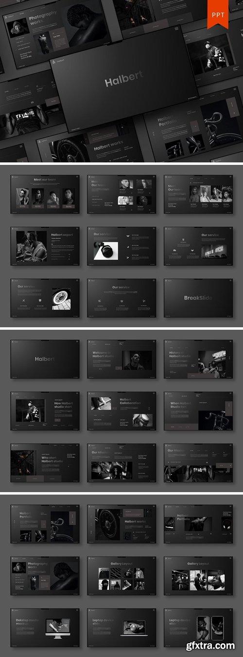 Halbert - Business PowerPoint Template