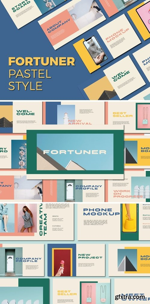 Fortuner Powerpoint, Keynote and Google Slides Templates