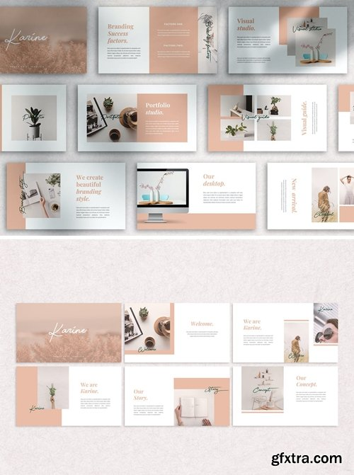 KARINE Powerpoint, Keynote and Google Slides Templates