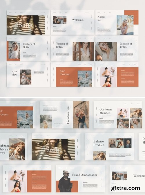 SOFIA Powerpoint, Keynote and Google Slides Templates