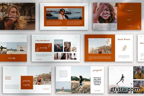 MARION Powerpoint, Keynote and Google Slides Templates