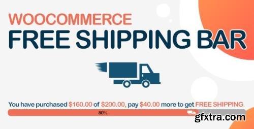 CodeCanyon - WooCommerce Free Shipping Bar v1.1.6.1 - Increase Average Order Value - 19536343