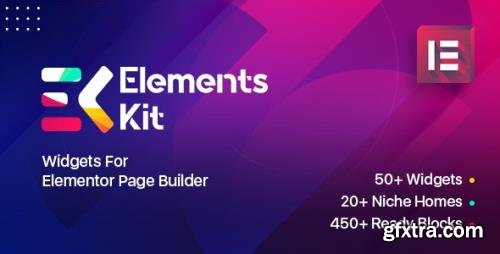 CodeCanyon - Elements Kit Widgets v2.0.3 - Addon for elementor page builder - 25104315