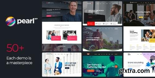 ThemeForest - Pearl v3.2.5 - Corporate Business WordPress Theme - 20432158