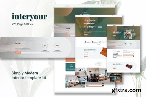 ThemeForest - Interyours v1.0.0 - Home Interior Design Elementor Template Kit - 29130889