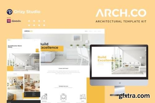 ThemeForest - Archco v1.0.0 - Architecture Elementor Template Kit - 29039554