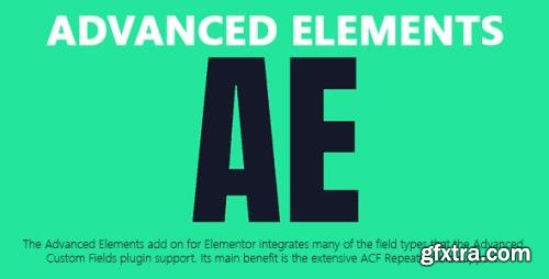Advanced Elements v1.6 - Add-On for Elementor Integrates Support ACF