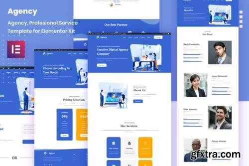 ThemeForest - Porto Agency v1.0.0 - Creative Digital Business Elementor Template Kit - 29341596