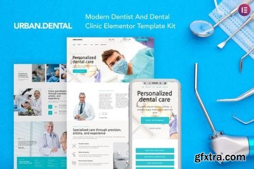 ThemeForest - UrbanDental v1.0.0 - Dentist & Dental Clinic Template Kit - 29440885