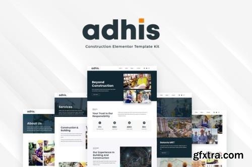 ThemeForest - Adhis v1.0.0 - Construction Elementor Template Kit - 29135495