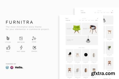 ThemeForest - Furnitra v1.4.0 - Modern eCommerce Elementor Template Kit - 29235935