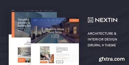 ThemeForest - Nextin v1.0 - Architecture & Interior Design Drupal 9 Theme (Update: 26 August 20) - 27727079