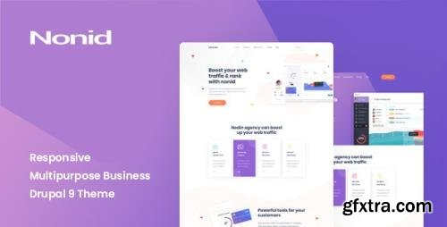 ThemeForest - Nonid v1.0 - Responsive Multipurpose Business Drupal 9 Theme (Update: 19 August 20) - 28141630