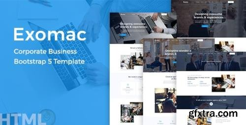 ThemeForest - Exomac v1.0.1 - Corporate Business Bootstrap 5 Template - 29347615