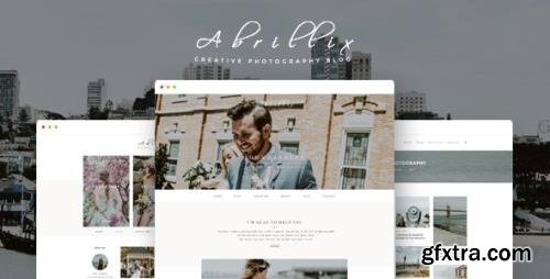 ThemeForest - ABRILLIX v1.0 - Creative Photography Blog Template - 19647445